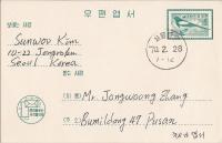 Zuid Korea, 1970