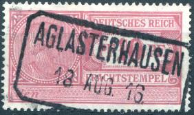 Deutsches Reich, 1916
